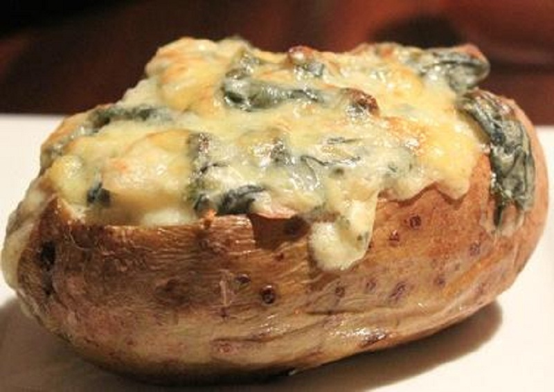 Twice Baked Parmesan Potatoes picture