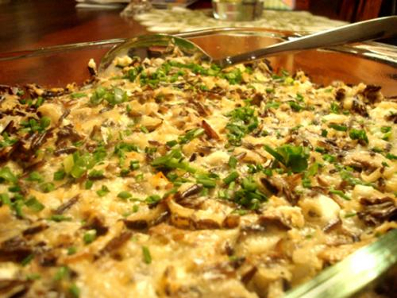 Veal and Wild Rice in Casserole picture