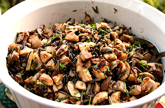 Wild Rice Mushrooms picture