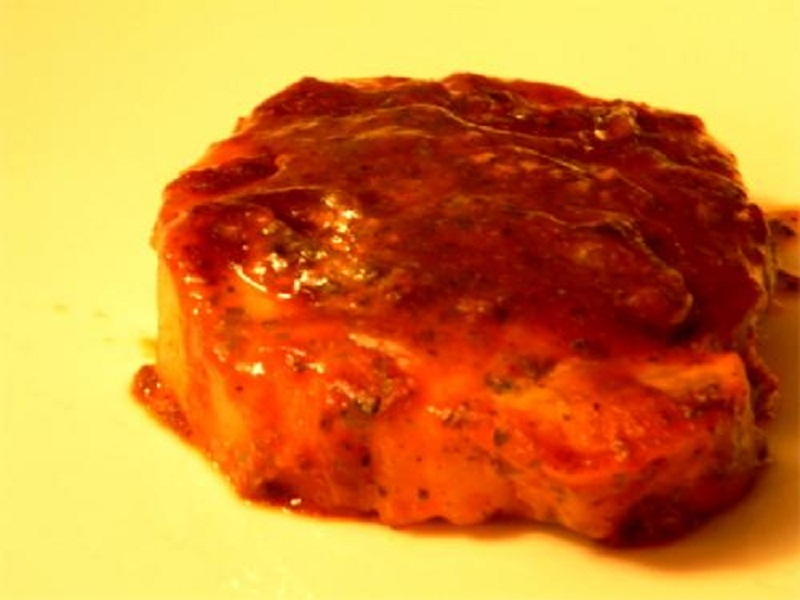Wine Braised Pork Chops picture
