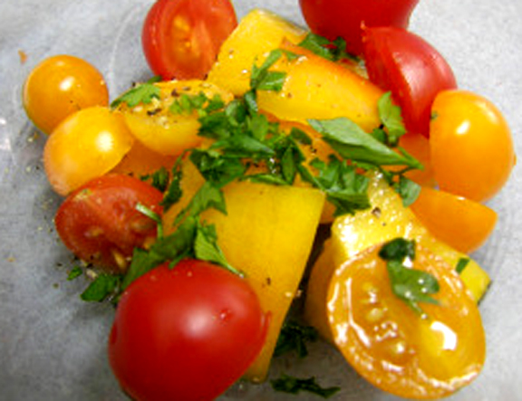 Wine Glazed Tomatoes picture