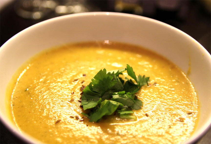 Coconut Cream and Green Bean Winter Soup  picture