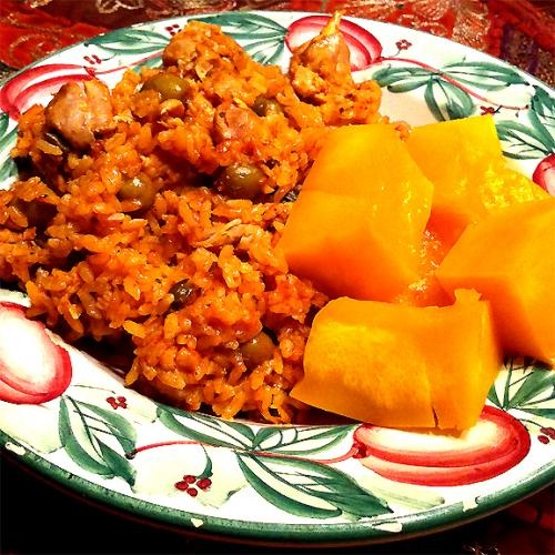 Chicken and Yellow Rice picture