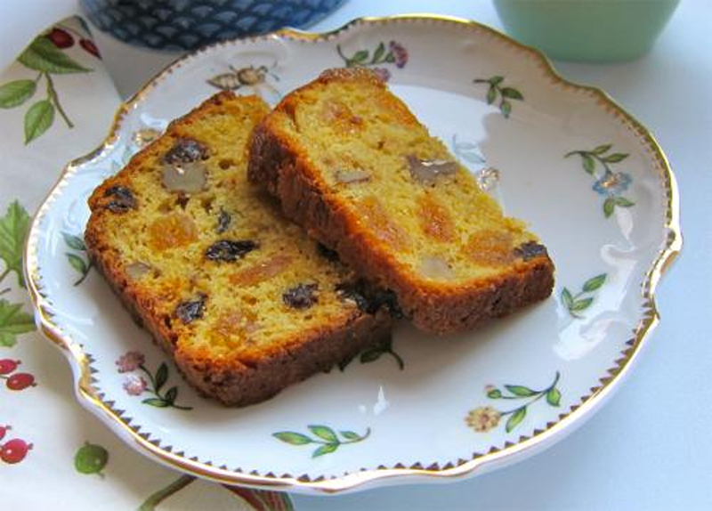 Yellow Fruit Cake picture