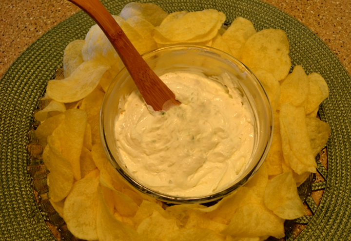 Southwestern Yogurt Cheese Spread picture
