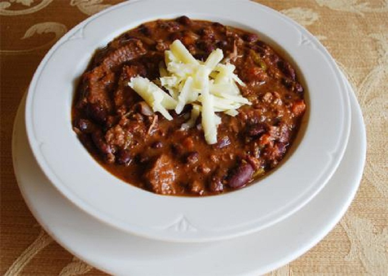 Zesty Pork And Beans  picture