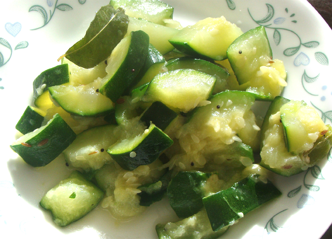 zucchini stir fry picture