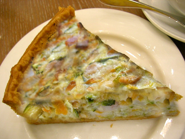 Zucchini Bacon Quiche picture