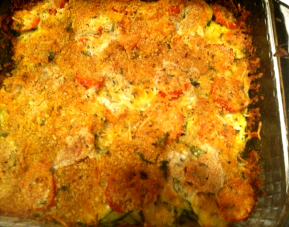 Zucchini And Green Chili Casserole picture